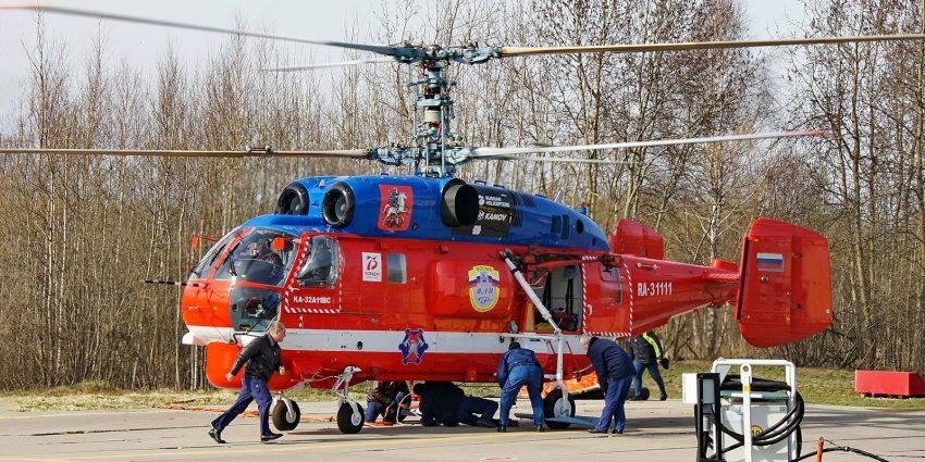 И в снег, и в дождь: новый вертолет пополнил отряд Московского авиацентра