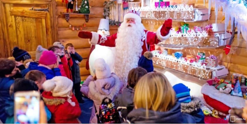 В Москве назван победитель онлайн-конкурса «Лучший Дед Мороз»