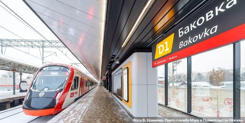 Собянин: На МЦД-1 открыли новый пригородный вокзал «Баковка»