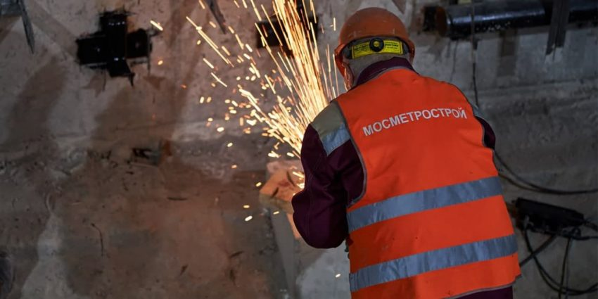 Собянин рассказал о ходе реконструкции станции метро «Каховская»