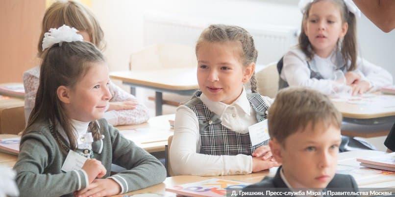 Собянин: В Москве за три года будет построено около сотни школ и детсадов