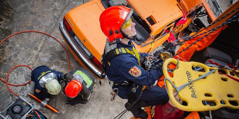 Завершился открытый чемпионат Москвы по многоборью спасателей