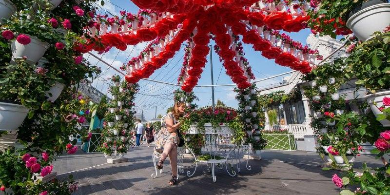 Собянин рассказал об открытии фестиваля ландшафтного дизайна «Цветочный джем»