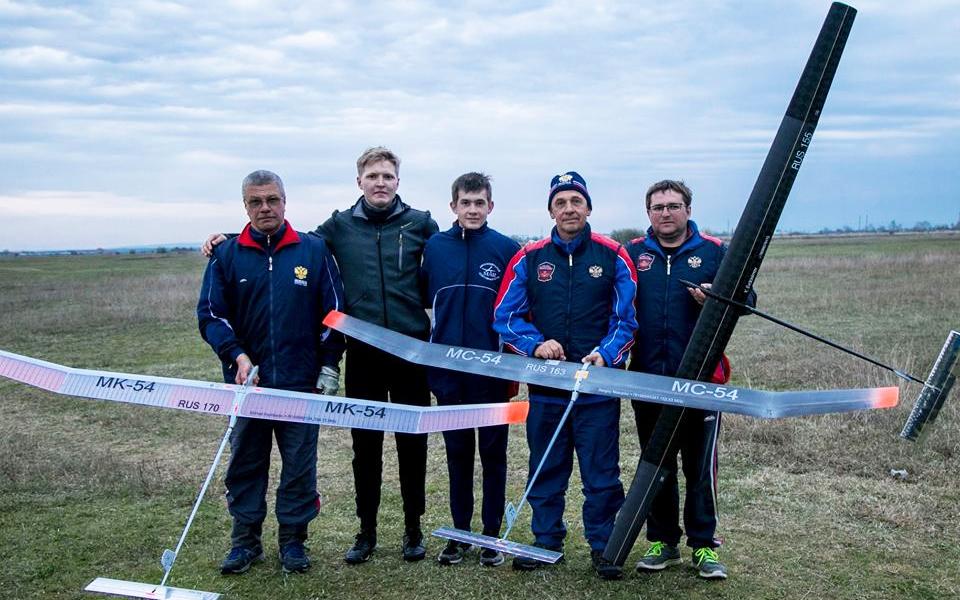 Команда МАИ завоевала полный комплект медалей на Всероссийских соревнованиях по авиамодельному спорту